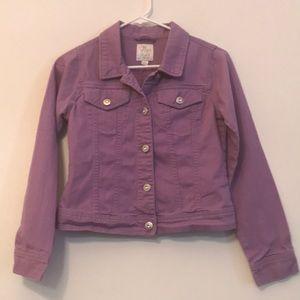 Children's Place Purple Jean Jacket